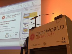 CropWorld Global 2013: How Do We Feed Our Growing Population?